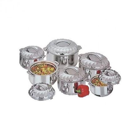 Stainless Steel Food Server Hot Pots Set Casserole