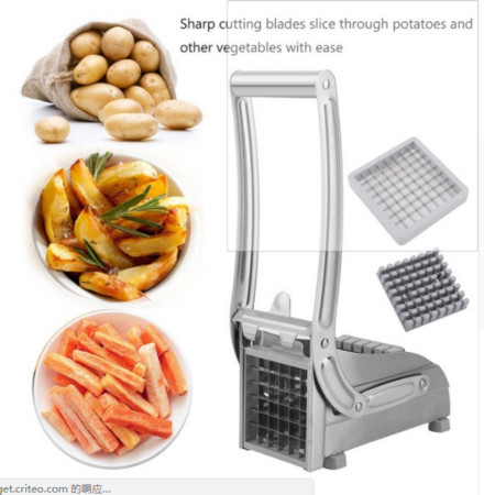Stainless Steel Home Kitchen Potato Chipper