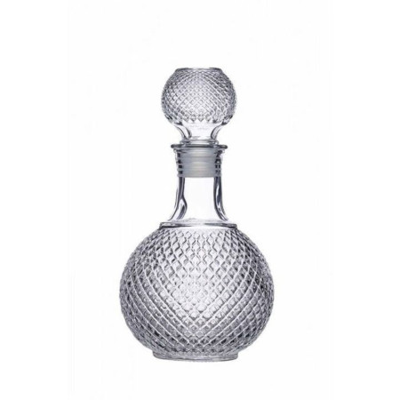 Whisky decanter clear crystal
