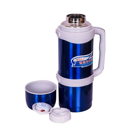 3 Litres High Quality Non Breakable Vacuum Flask Blue