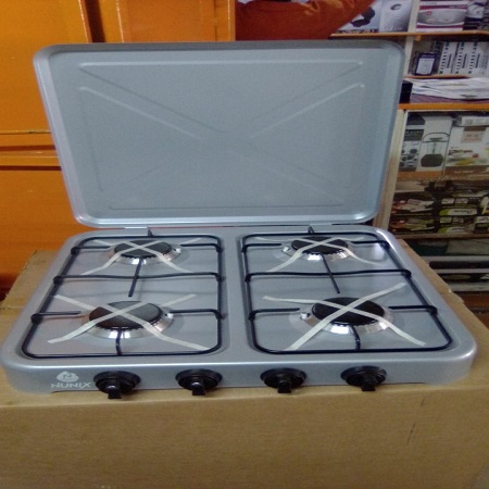 4 Burner Gas Stove Table Top
