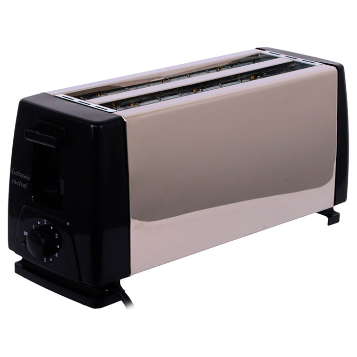 4 Slice Pop Up Toaster stainless steel