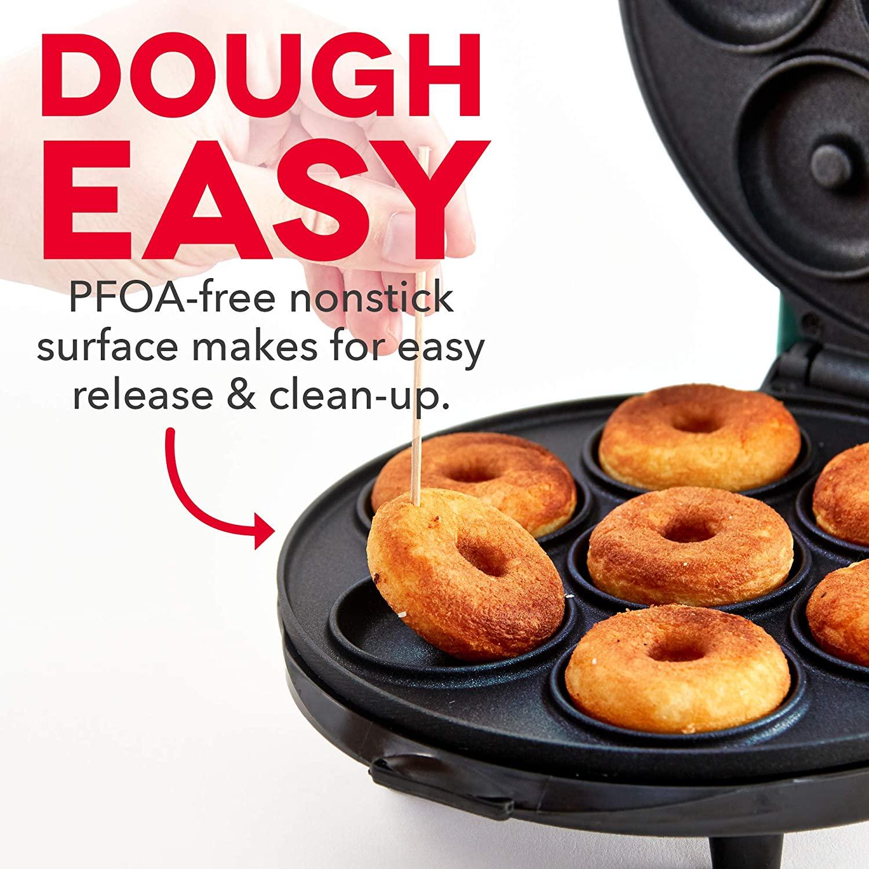 7 slots Mini Donut Doughnut Maker Machine Black
