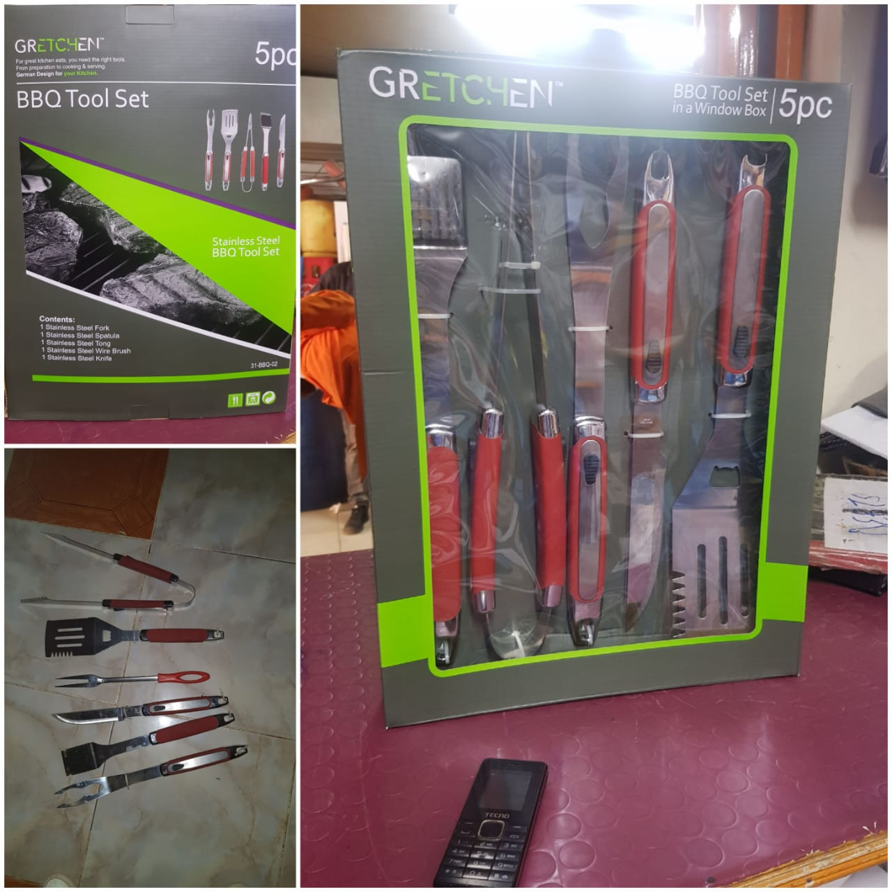 Barbecue/Barbeque BBQ kitchen tool set