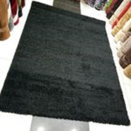 Fluffy Carpets 5 By 8 - Black