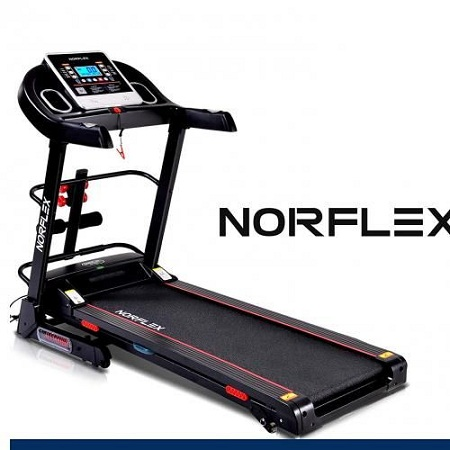 Foldable Treadmill For Small Spaces – For Beginners & Professional Runners – 3.0 Motor Power – 3 Level Manual Incline Running Machine