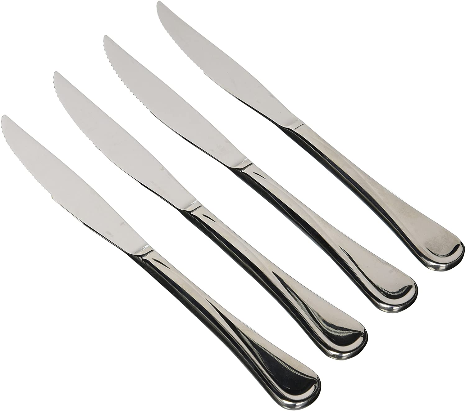 Generic 6pcs High Quality Stainless Steel Table Butter Knives / Knife Set (+ Free Gift Hand Towel) Stainless Steel