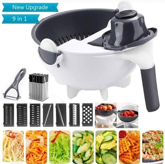 Generic 9in1 Multipurpose Vegetable Cutter