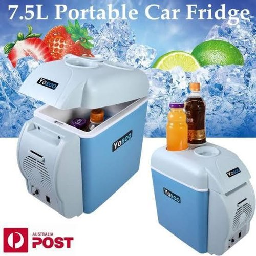 Generic Portable Car Small Refrigerator Mini Portable Fridge - Cooler And Warmer as per the picture 7.5 litres