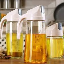 Glass Jar Oil/Vinegar Dispenser Bottle