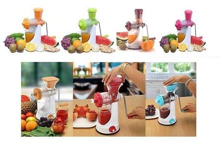 Manual Fruit & Vegetable Juicer Extractor Juicer random Orange 1 pcs