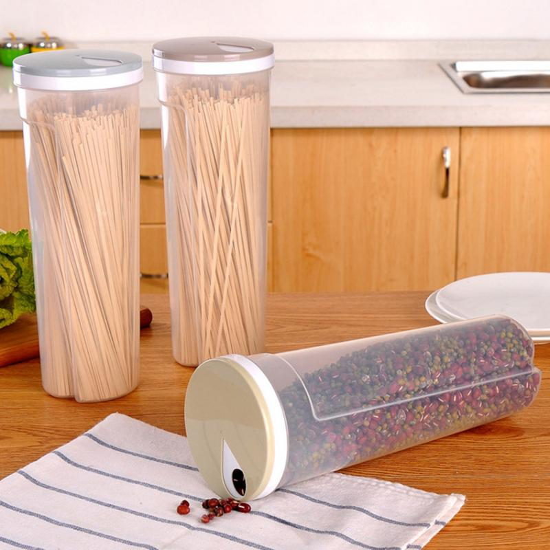 Multi-function Airtight Spaghetti Cereal Storage Container / Holder