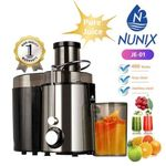 Nunix Juice Extractor Stainless Steel- Juicer/ Blender