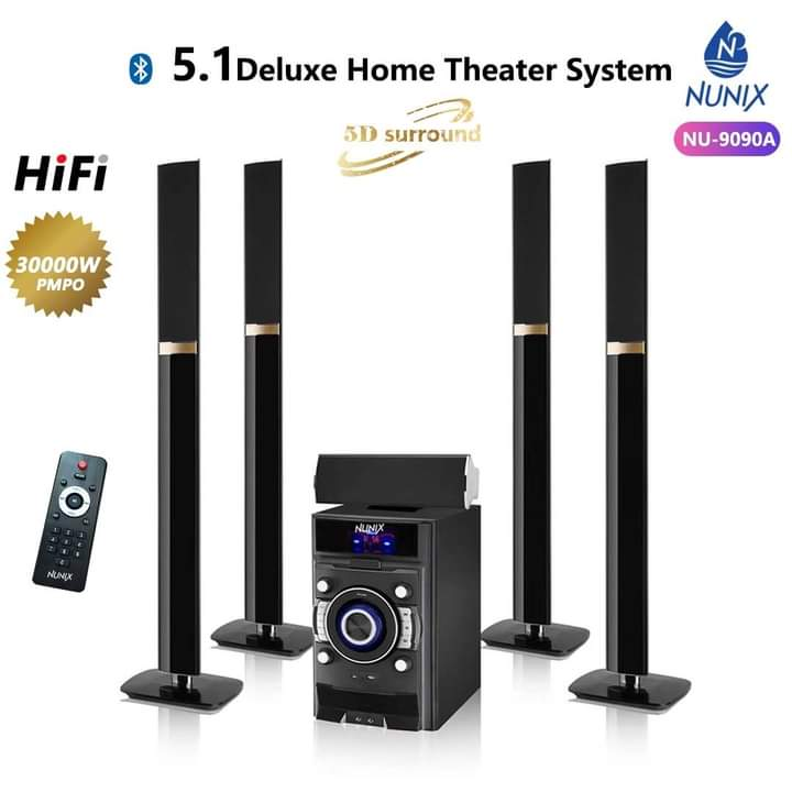 Nunix NU-9090A 5.1 Deluxe Home Theatre System