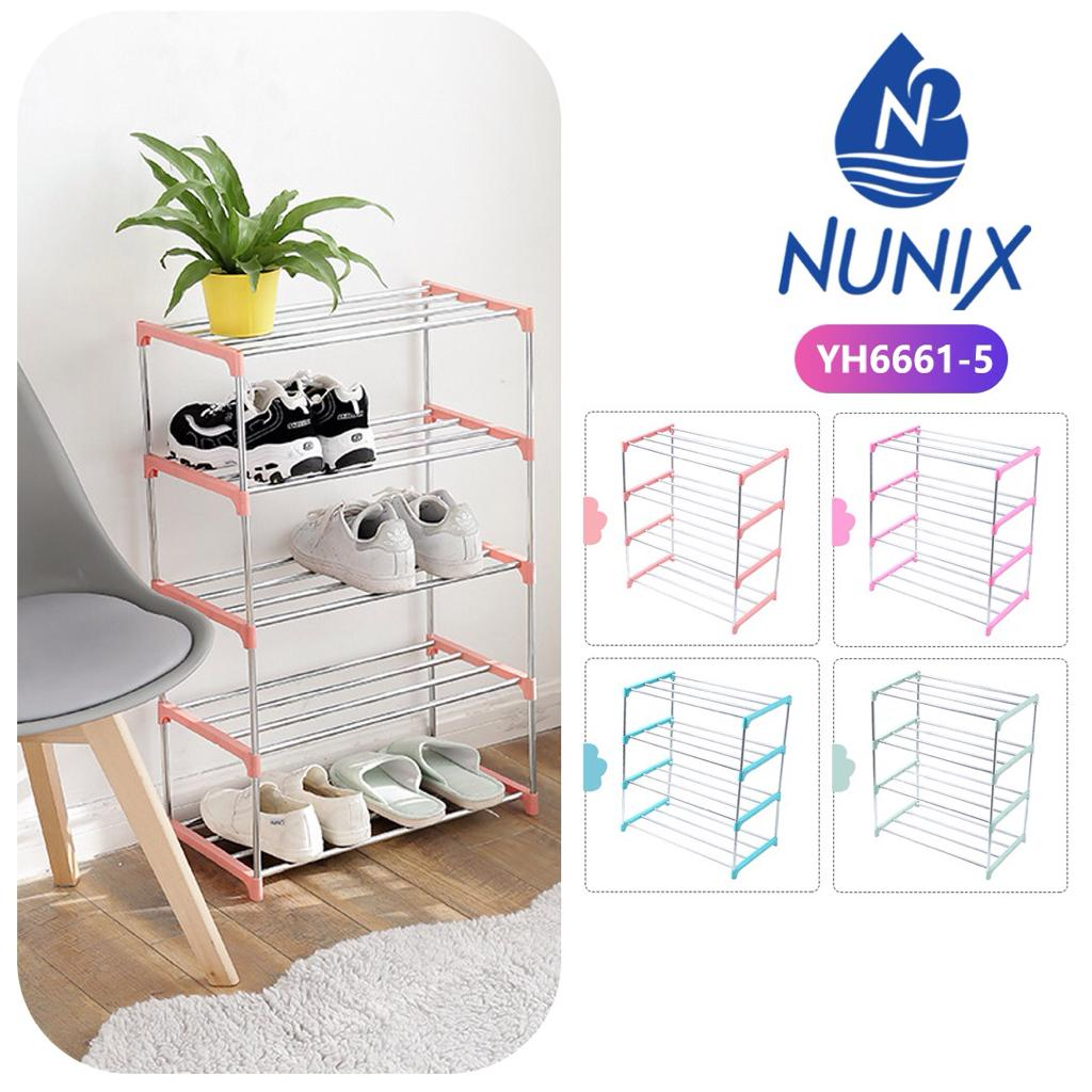 Nunix Portable Shoe Rack-5 Tier