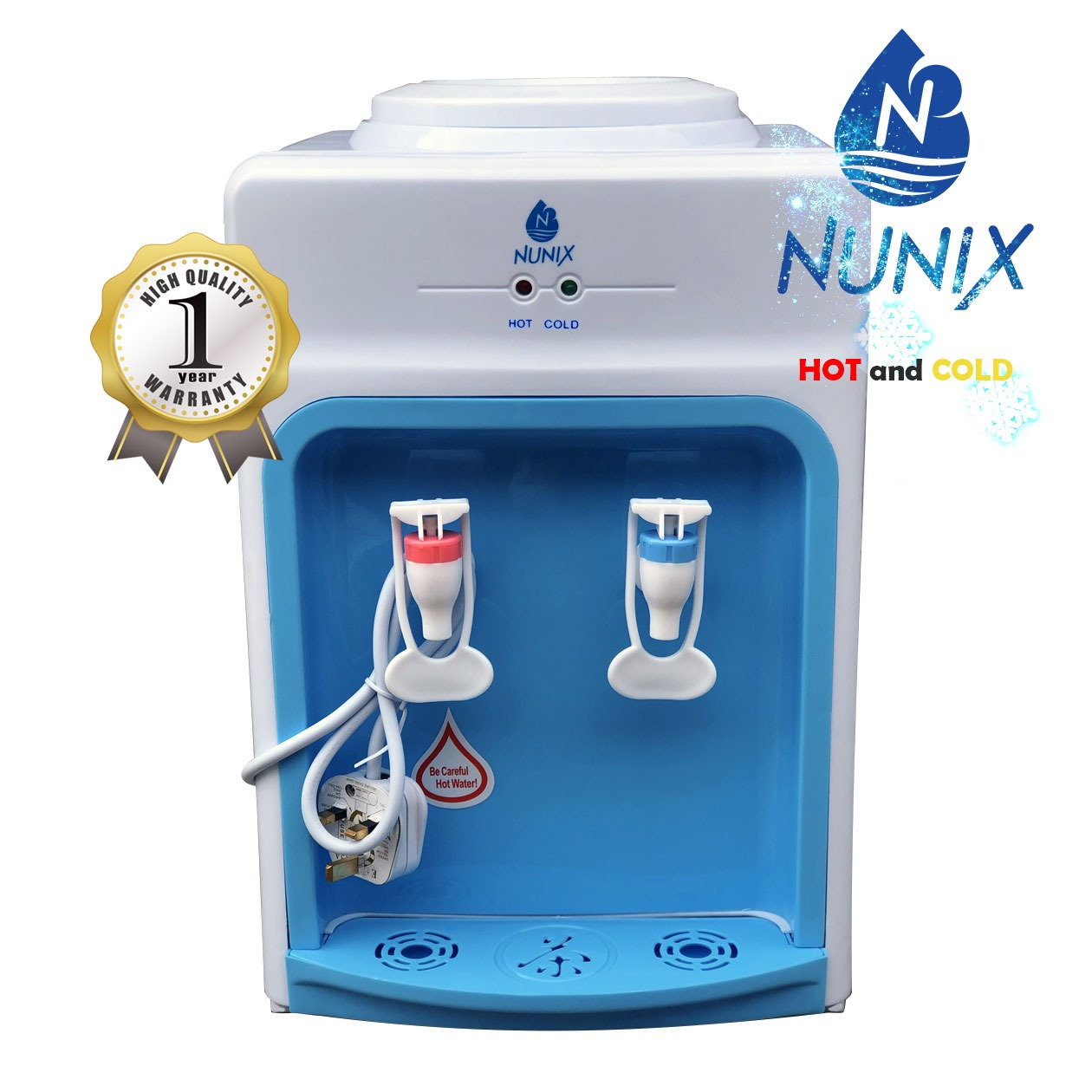 Nunix Table Top Water Dispenser Hot & Cold