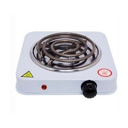 Portable Single Hot Plate white