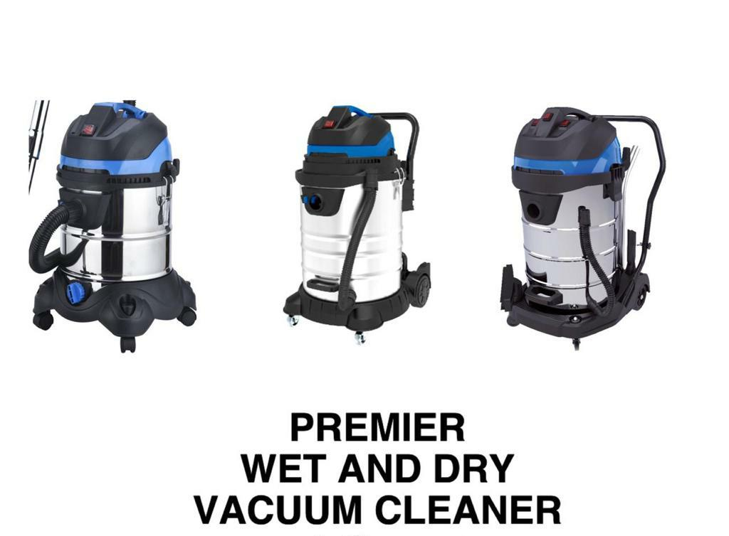 Premier wet and dry Vacuum cleaner 100 litres