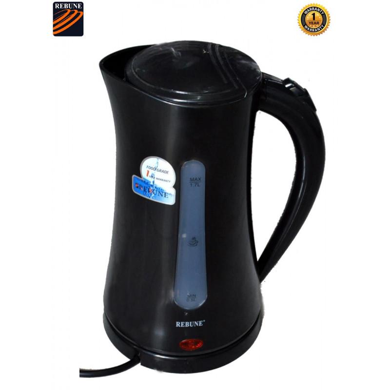 Rebune 1.7L Quality Electric Kettle Black