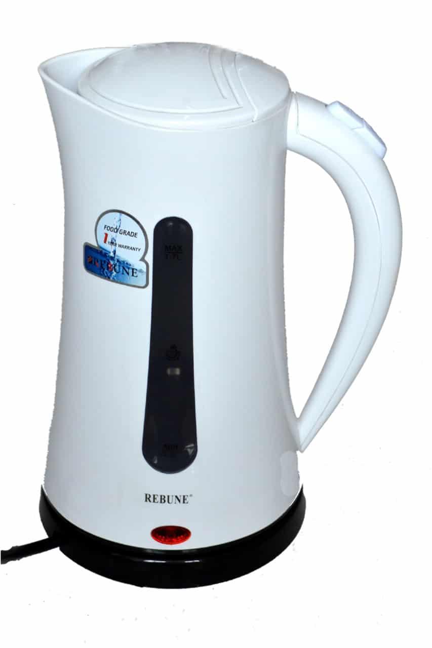 Rebune 1.7L Quality Electric Kettle White