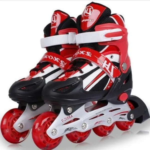 Roller Skating Shoes Extendable Size 39-42 Red