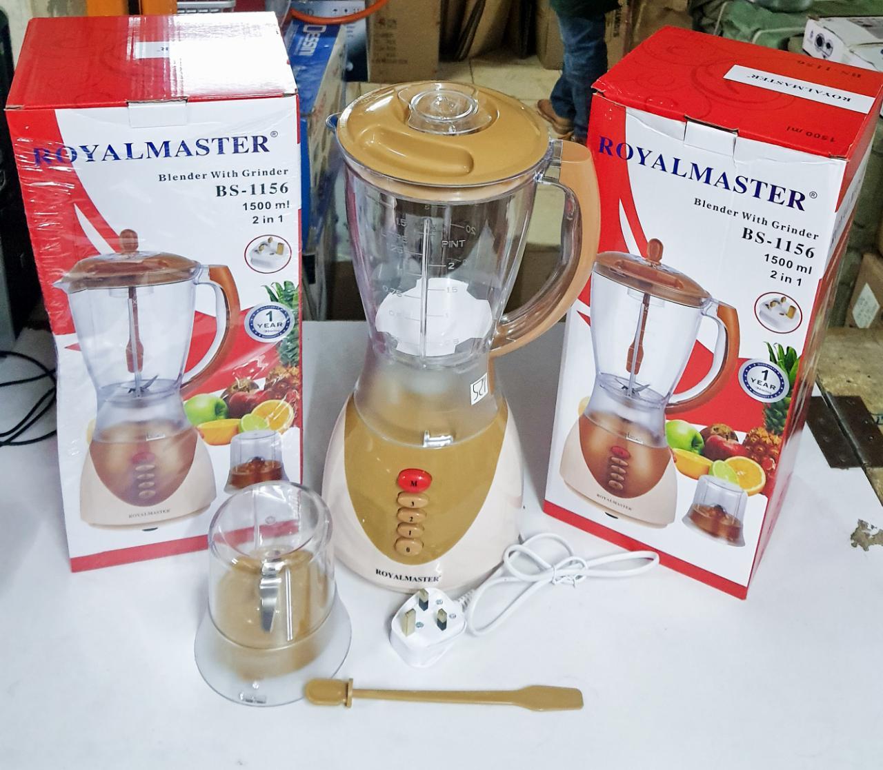 Royal master blender 2 in 1 with  grinder