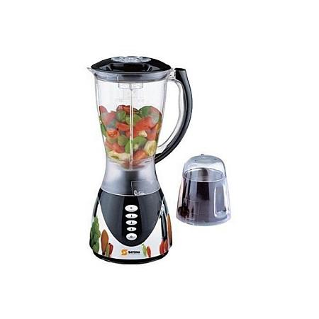 Sayona Blender With Unbreakable Jug inclusive Mill & grinder with Metallic & Plastic Base