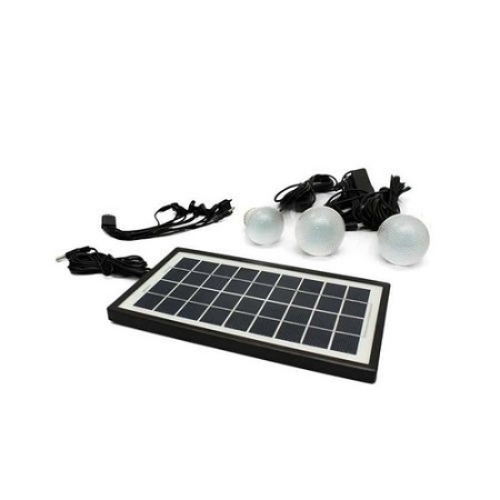 Solar Lighting System With FM Radio