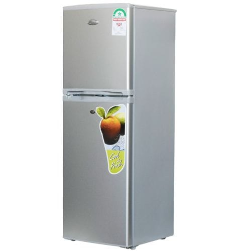 Super General SGR175HS, Double Door Refrigerator, 175L - Silver