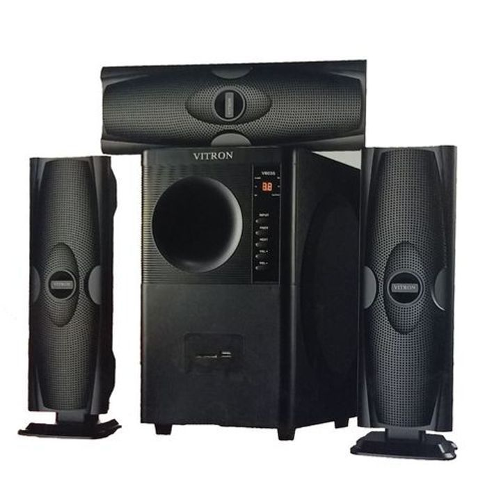 Vitron HOME THEATER BLUETOOTH SPEAKER SUB-WOOFER SYSTEM 3.1 CH
