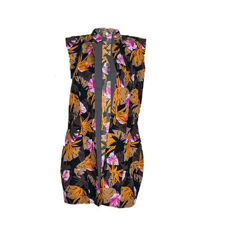 Fashion Unique Ankara Kimono/ Coat (multicoloured kitenge print)