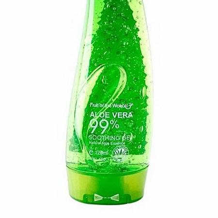 Aloe Vera Soothing Gel, Sunburn Repair Gel green