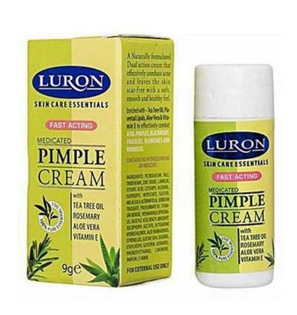 Luron Medicated Pimple Cream ( combat pimples, acne, blackheads and blemishes) cream
