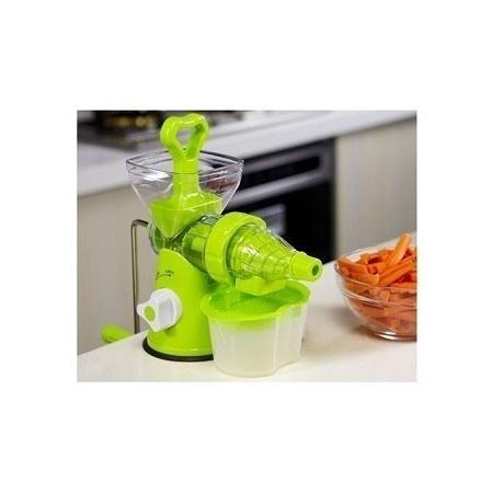 Effective Blender- multi function manual Juicer- fruits and vegetable - Green