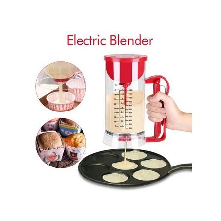 Electric Cordless Battery Pancake Maker Machine Dispenser