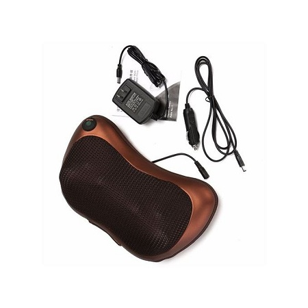 Electronic 20W 8 Drives Car Massage Pillow Massager Cushion For Neck Back Relax