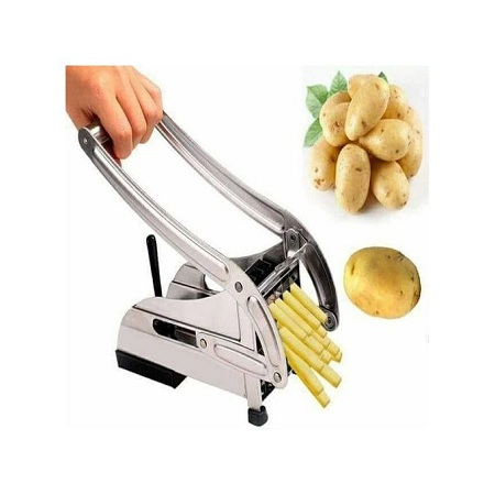 Fries Cutter,Stainless Steel Chips/Fries Potato Chopper