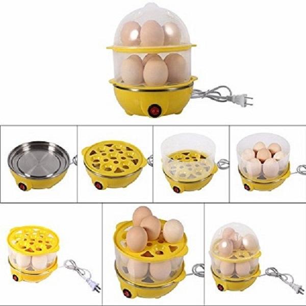 Electric Egg Poacher Egg Boiler Egg Steamer Egg Cooker
