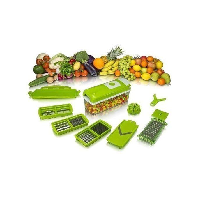 Nicer Dicer Plus Vegetable Cutter - Green
