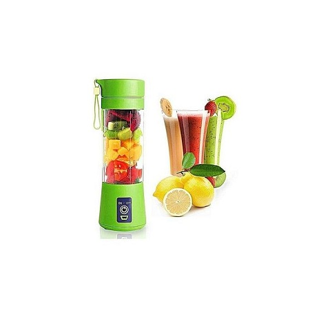 Portable Blender Electric Fruit Cup/ Juicer Cup {Green}