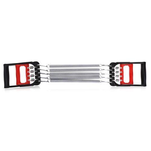 Wrist Developer Fitness Spring Chest Arm Exerciser Pull Kit - Red With Black