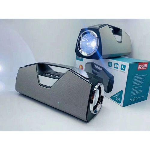 Wster Portable Wireless Speaker,MP3 ,FM Radio,Torch