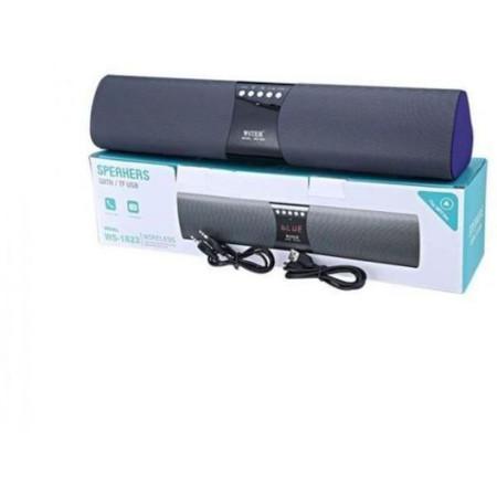 Wster WS-1822 Portable Wireless Speaker, MP3 Player & Radio - BLUE