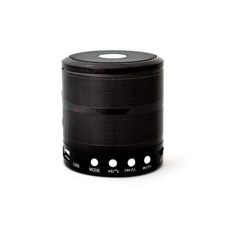 Wster WS-887 - Mini Bluetooth Wireless Stereo Speakers FM, Memory Card, Bluetooth, USB - Black