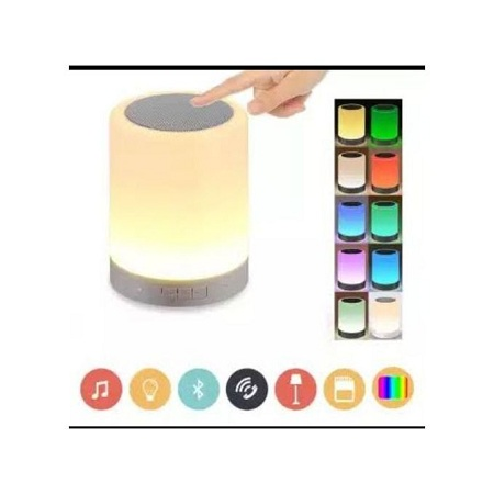 Touch Lamp Portable Wireless Bluetooth Speaker