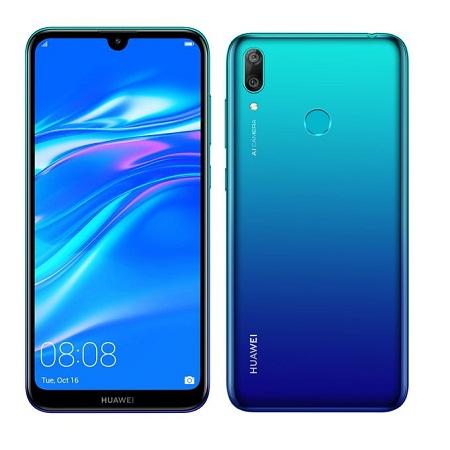Huawei Y7 Prime 2019- 1.8ghz, 64GB+3GB (Dual SIM), 4G, Blue