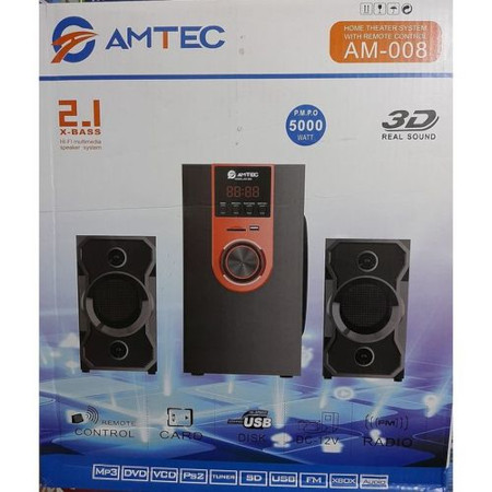 Amtec SUB WOOFER SPEAKER SYSTEM FM/BT/SD/USB-5000W