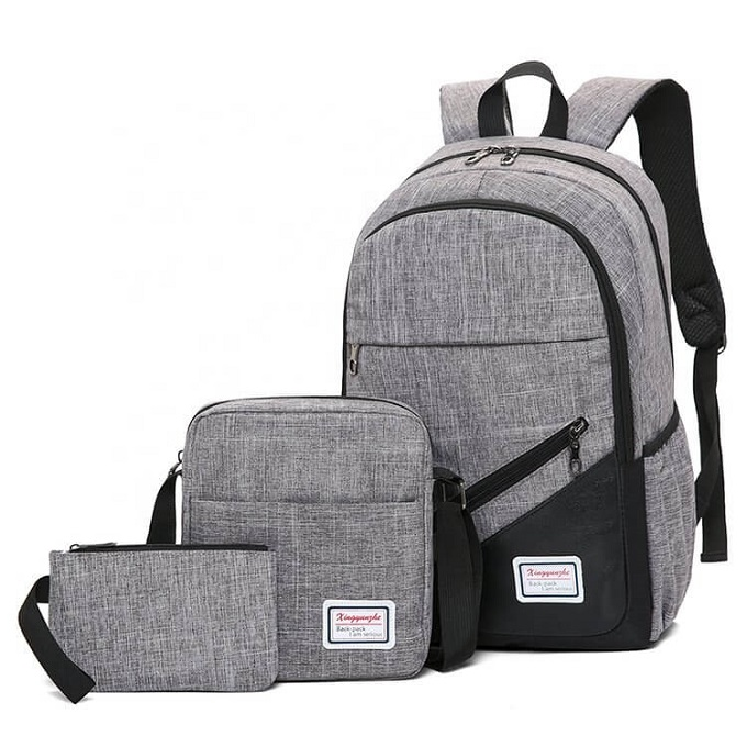 Quality Canvas 3-In-1 Laptop Backpacks ZBP-1002