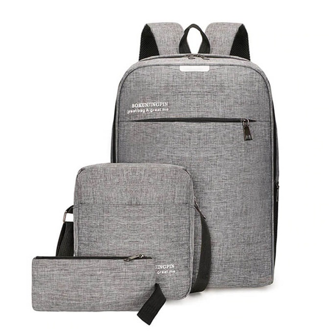 More for Less- Bokun Quality Canvas 3in1 Backpack ZBP-1023