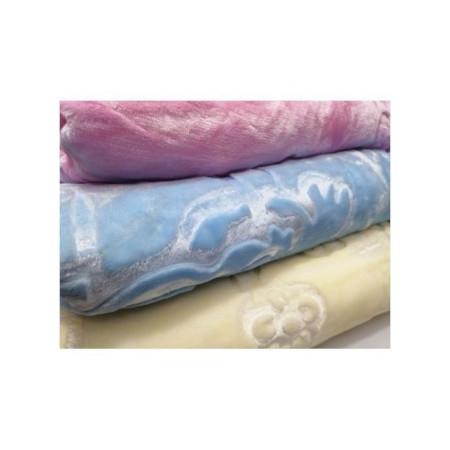 Fashion BABY BLANKET WARM Blue